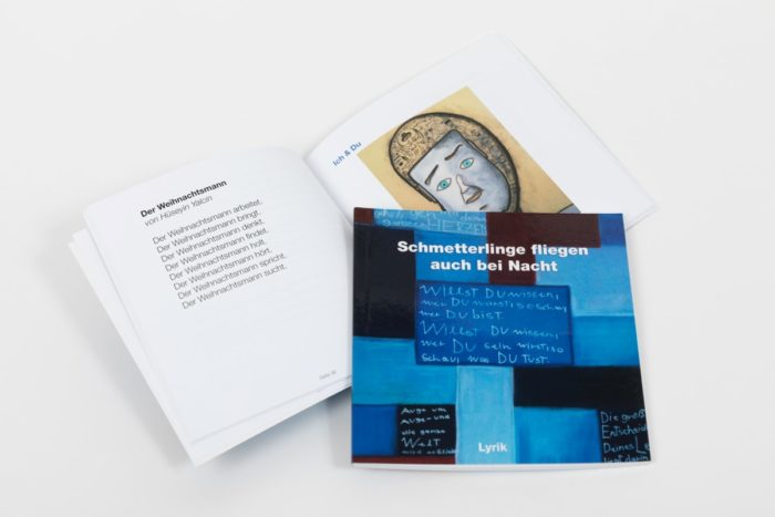 Gedichtband Schmetterlinge Medienwerkstatt Lieboch