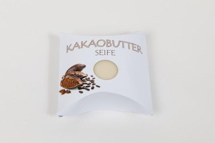 Natur und Geschenkseife der Rosentaler Seifensiederei Lebenshilfe Kakaobutter