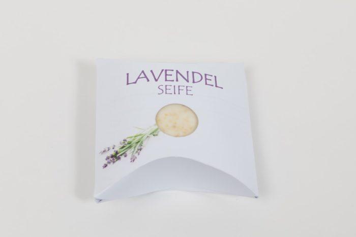 Lavendel Natur und Geschenkseife der Rosentaler Seifensiederei Lebenshilfe