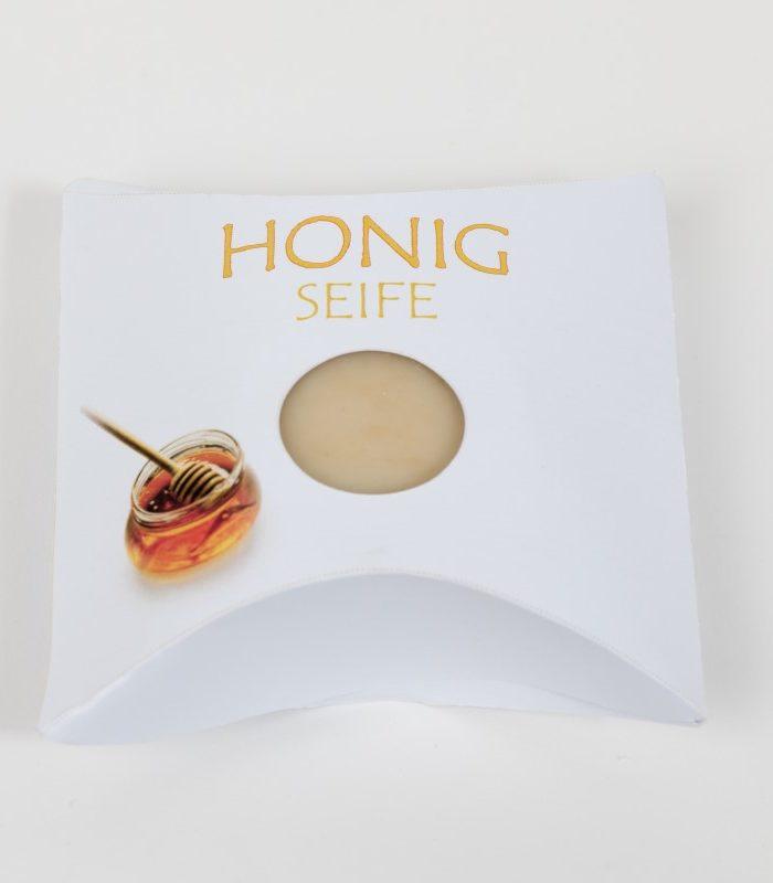 Natur und Gästeseife der Rosentaler Seifensiederei Lebenshilfe Honig