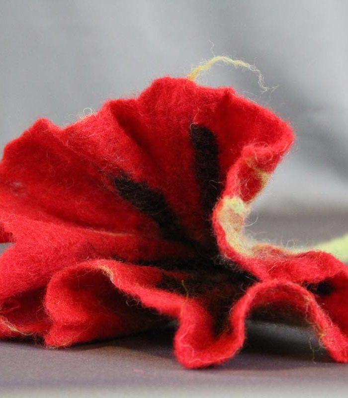 filzblume rot lebenshilfe anzengrubergasse graz