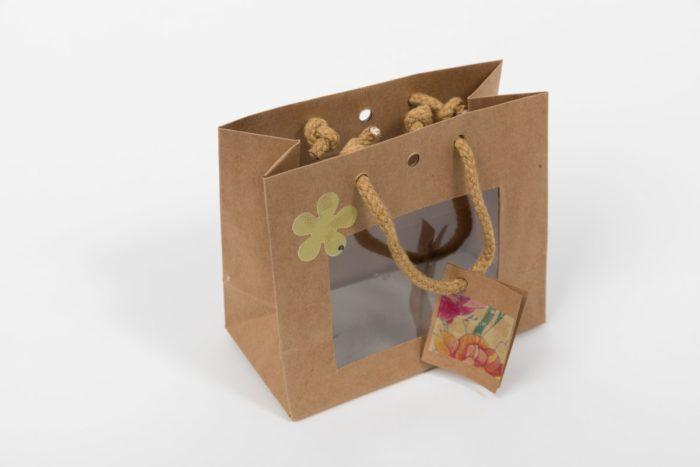 Geschenkverpackung Blumenzauber