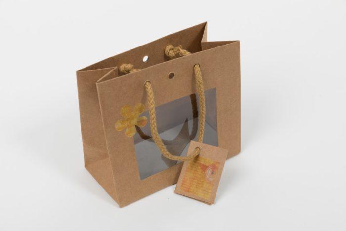 Geschenkverpackung Vogel