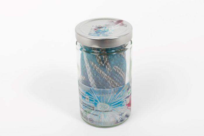 Seidentuch Wasserkristall