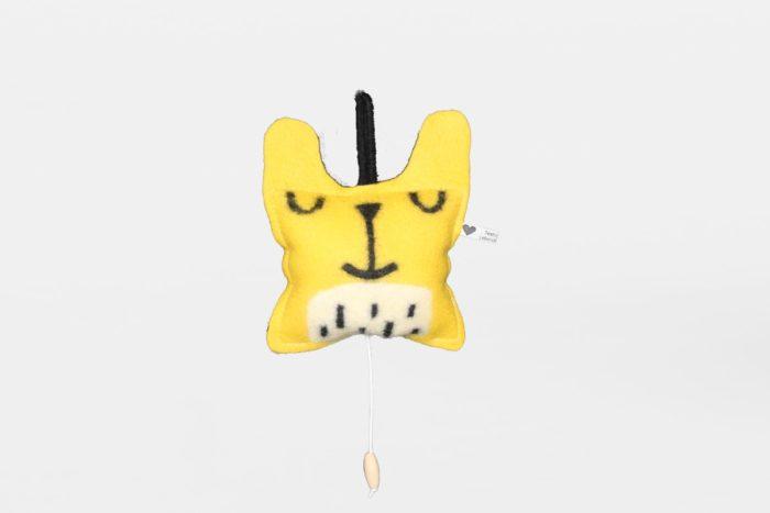 spieluhr tiger tieger gelb