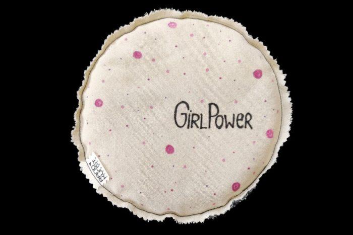 Dinkelkissen Girlpower