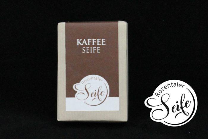 Kaffeeseife Block