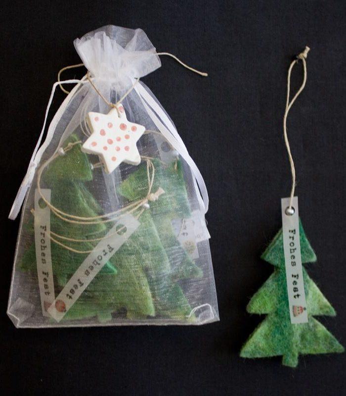 Weihnachtsbaum grün