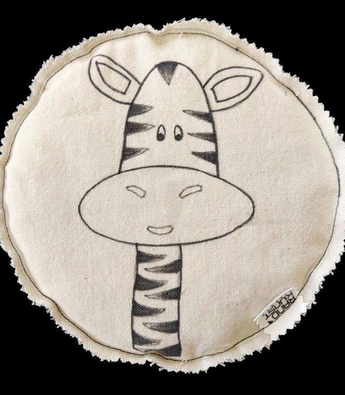 Dinkelkissen Zebra
